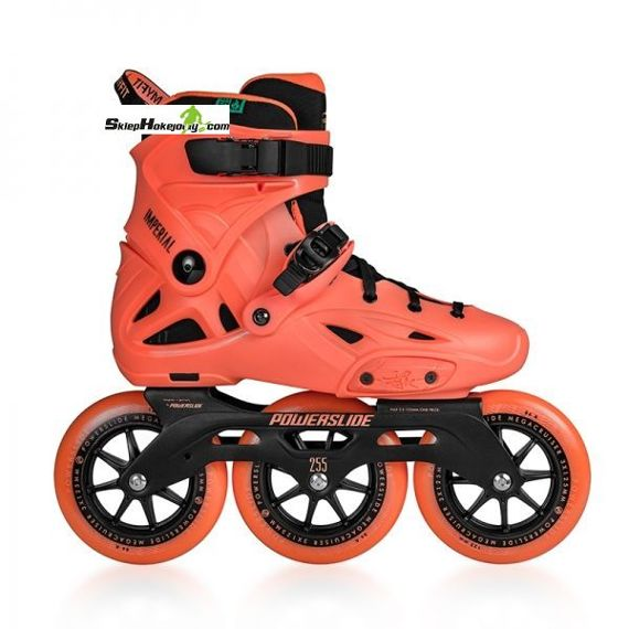 Rolki POWERSLIDE IMPERIAL MEGACRUISER 125 ORANGE