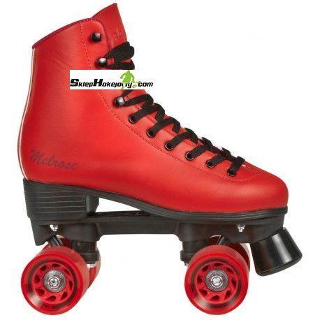 Wrotki PlayLife Melrose RED quads