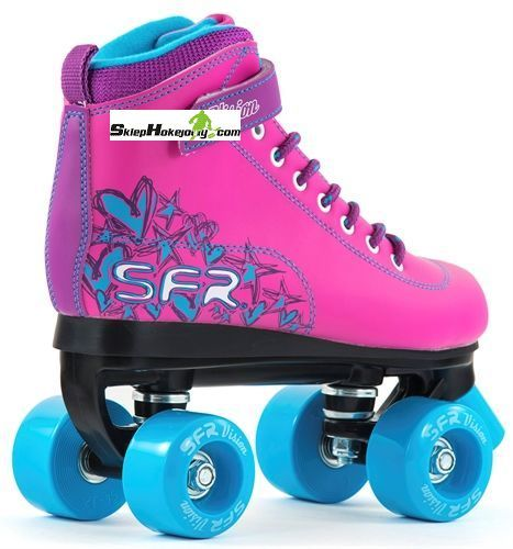 Wrotki SFR Vision II Quad ( Pink/Blue )